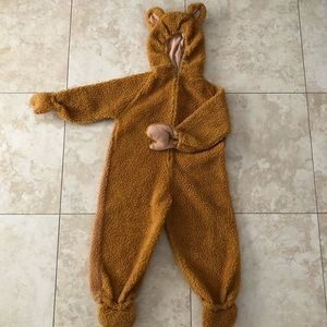Other - Teddy bear one piece costume
